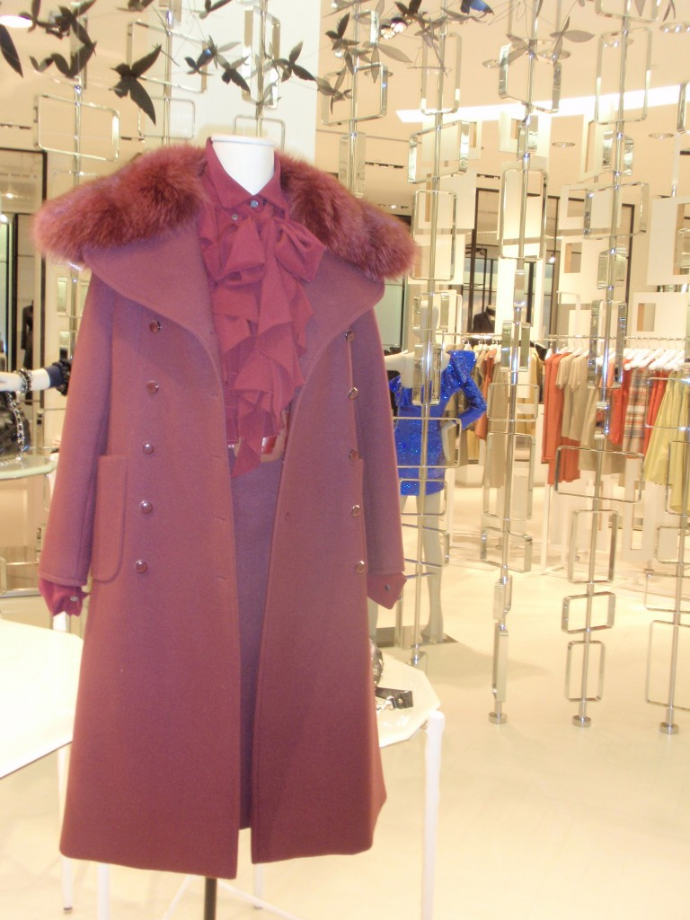 Vintage Haute Couture Dior 3pc, coat, skirt and belt, from Elizabeth Mason private vintage collection, available at The Room