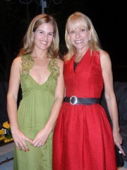 Jane Bloomingdale-Cisneros and Elizabeth Mason at the opening night gala for High Style