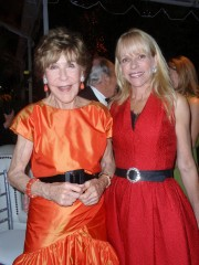 Betsey Bloomingdale and Elizabeth Mason at the opening night gala for High Style