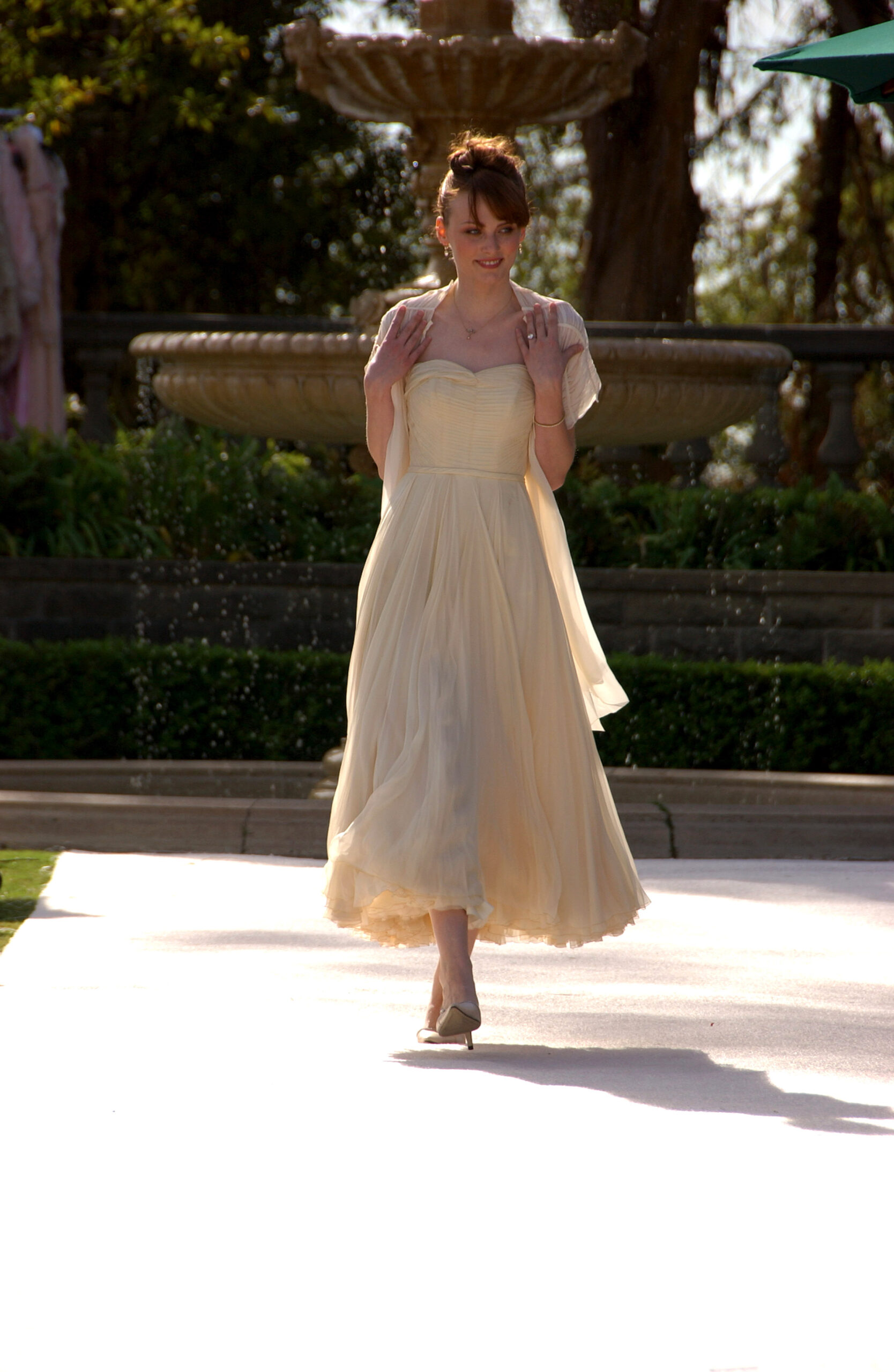 Paperbag Bridal Fashion Greystone Mansion 110506
